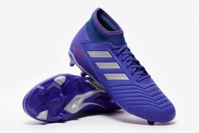 Футбольные бутсы Adidas Predator 19.3 FG Blue BB8112