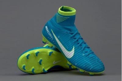 Детские футбольные бутсы Nike Mercurial Superfly DF Neymar FG Junior 921483-400