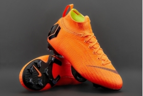 Детские футбольные бутсы Nike Mercurial Superfly 6 Elite FG Junior Orange AH7340-810