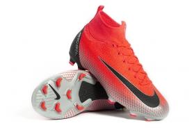 Детские футбольные бутсы Nike Mercurial Superfly 6 Elite CR7 FG Junior AJ3086-600