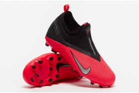 Детские футбольные бутсы Nike Phantom Vision II Academy DF FG Junior CD4059-606