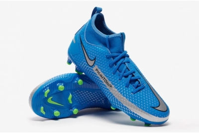 Детские футбольные бутсы Nike Phantom GT Academy DF MG Junior CW6694-400