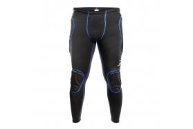 Вратарские термо штаны Brave Black Blue 70107